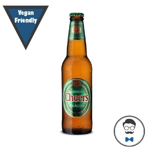 Cheers Branca Alcohol Free Beer (0.5% ABV)